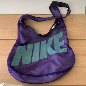 Nike gym or beach reversible tote